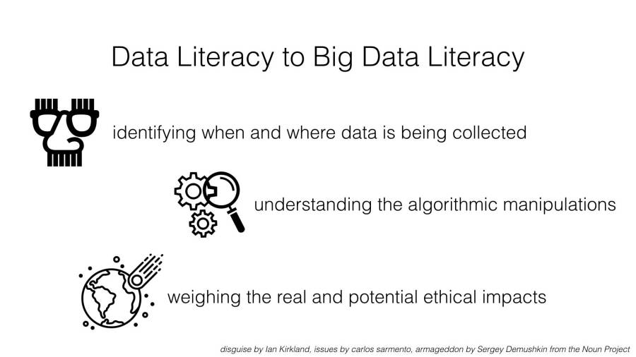"Some extensions to define ""Big Data Literacy""."