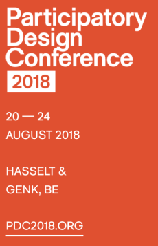 Participatory_Design_Conference_2018_–_Participatory_Design_Conference_2018__20_—_24_august_2018_in_Hasselt___Genk__Belgium